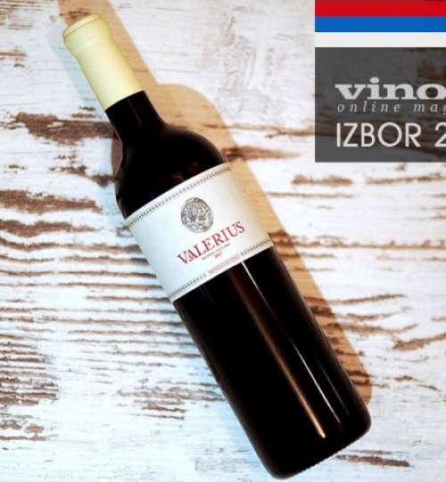 Valerius 2017 Imperator - Najbolje belo organsko vino srbije